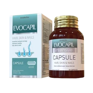 Evocapil intensive capsules against hair loss