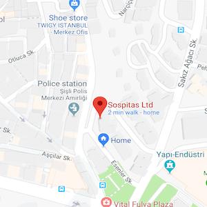Sospitas google maps